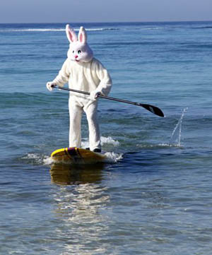 surfing easter