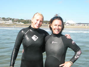 surf instructors lorna walshe